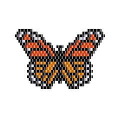 Monarch Butterfly Pendant peyote pattern 3 by NaturalWondersbyCari                                                                                                                                                                                 More