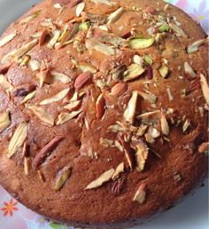 Here's a great Vivatta contest Recipe- Egg less Wholewheat And Orange Almond Cake Recipe best as tea- time cake it can be baked with readily available ingredient very quickly.With a slight tinge of (Best Chocolate Coffee) Eggless Desserts, Eggless Recipes, Eggless Baking, Almond Recipes, Baking Recipes, Cake Recipes, Egg Desserts, Flour Recipes, Muffin Recipes