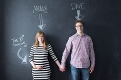 This entire maternity shoot is cute - all indoors and they incorporate the nursery!