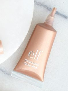 Add a few drops of e.l.f.'s vitamin-packed Shimmering Facial Whip, $6, to any moisturizer for an iridescent finish.