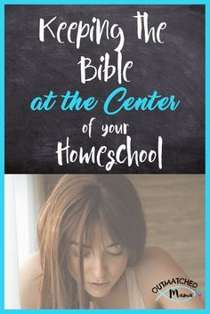 Are you Keeping the Bible at the Center of your Homeschool? Learn how to keep your homeschool centered on God's Word! It's the key to homeschool success! #outmatchedmama #christcenteredhomeschool #blogparty #christcenteredparenting #biblicalparenting #bib Funny Tips, Montessori Homeschool, Bible For Kids, Home Schooling, Parenting Hacks, Key, Success, Cycle 3, Summer Activities