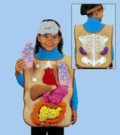 What's Inside Me? Apron at Lakeshore Learning Kid Science, Science Projects For Kids, Preschool Science, Science Experiments Kids, Science Fair, Science Lessons, Science Activities, Educational Activities, School Projects