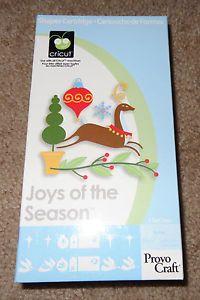 Cricut Cartridge Joys of The Season