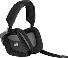 Enjoy the precision of custom tuned speaker drivers and an all new noise canceling microphone for crystal clear communication. Corsair Void Pro RGB Wireless Gaming Headset - Dolby Surround Sound Headphones for PC - Discord Certified - Drivers - Carbon. Best Gaming Headset, Gaming Headphones, Wireless Headset, Surround Sound, Logitech, Windows 10, Xbox One, Ps4, Software