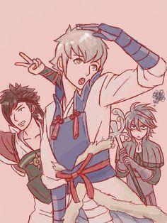 Shinonome, Kisaragi, and Dwyer