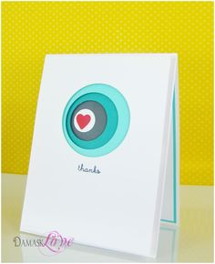Amazing card - uses Spellbinders circle Nestabilities