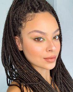 Cut Crease Makeup, No Eyeliner Makeup, Makeup Geek, Beauty Makeup, Hair Beauty, Box Braids Hairstyles, Wedding Hairstyles, Curly Hair Styles, Natural Hair Styles