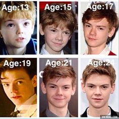 thomas sangster maze runner - Google Search