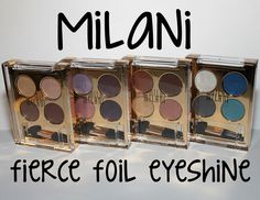 Milani Fierce Foil Eyeshine! | CoaSMom