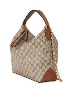 GG Supreme Large Hobo Bag Gucci Hobo Bag bdc21f3892c