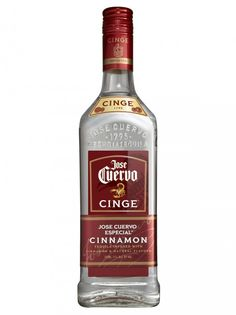 Cuervo Tequila Cinge is infused with natural cinnamon, giving this smooth tequila an unexpected kick. It is the newest and fieriest member of the Cuervo family. – Distiller's notes Fun Drinks, Alcoholic Drinks, Cocktails, Flavored Tequila, Online Wine Store, Hard Apple Cider, Cocktail Ingredients, Wine And Liquor, Jose Cuervo