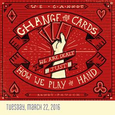 """""""We cannot change the cards we are dealt just how we play the hand."""" - Randy Pausch Artwork by Alicia Pompei aliciapompei.com #TodayIsGoingToBeAGreatDay #Inspiration #InspirationalQuote #Motivation #BestoftheDay #inspirations #myinspiration #inspirationquote #dailyinspiration #InspirationalQuotes #powerofpositivity #wordstoliveby #encouragement #positive #quotestoliveby #inspo #lifequotes #instadaily"""
