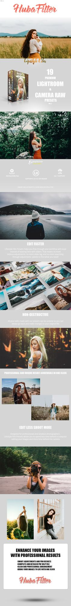 19 Lifestyle Film Vol.3 Lightroom & Camera Raw Presets — LRTemplate #camera raw #Luts • Available here ➝ https://graphicriver.net/item/19-lifestyle-film-vol3-lightroom-camera-raw-presets/20549284?ref=pxcr