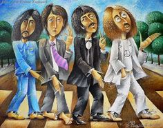 The Abbey Road by Yury Macyk.