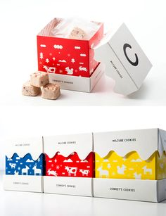 MILCUBE COOKIES.   Such a great collection of animals IMPDO