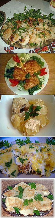 Готовим минтай - несколько легких и вкусных рецептов.