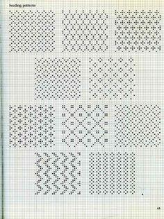 some fair isle patterns
