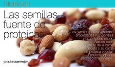 Semillas fuente de proteinas