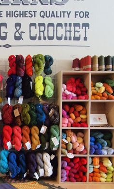 I discovered knitting in undergraduate school.  I found it to be very relaxing and calming for me.  I really want to reincorporate this hobby into my life.  This store, Fancy Tiger, in Denver has great yarn and pattern ideas.    Image retrieved from: http://www.fancytiger.com