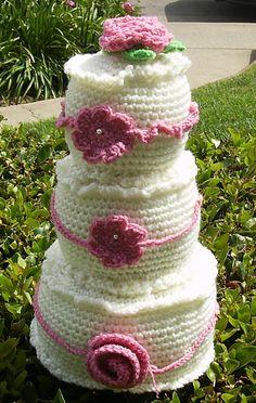 Ravelry: 3-layer Wedding Cake pattern by Sara Duggan