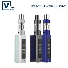 Best price US $27.50  Vivakita 80W OLED Screen Box Mod pro Tank Black Blue White Mod Big Color Screen Big Vapor Electronic Cigarette Kit  #Vivakita #OLED #Screen #Tank #Black #Blue #White #Color #Vapor #Electronic #Cigarette  BestSeller