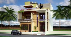 home design plans indian style using entrance door accessories and paint house zilina for modern barn house plans uk - Best Home Interior Design House Plans Uk, Indian House Plans, Small House Floor Plans, Front Elevation Designs, House Elevation, Building Elevation, Home Map Design, Best Home Interior Design, Home Design Plans