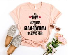 Great Grandma Gifts, Grandparents Day Gifts, Mom And Grandma, 1st Anniversary Gifts, Boyfriend Anniversary Gifts, Boyfriend Gifts, Granny Gifts, Birthday Presents For Him, Band Mom