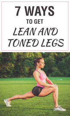 Best Ways to Get Lean and Toned Legs These are the 7 Best Ways to Get Lean and Toned Legs! Get toned and lean for summer! These are the 7 Best Ways to Get Lean and Toned Legs! Get toned and lean for summer! Lean Thighs, Tone Thighs, Lean Legs, Thinner Thighs, Slim Legs, Fitness Facts, Fitness Tips, Fitness Fun, Muscle Fitness