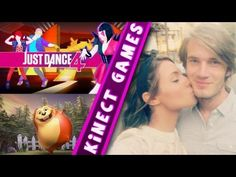 PewDiePie's KINECT GAMES WITH GIRLFRIEND - Just Dance 4 / Kinect Adventures