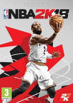Kyrie Irving makes the first NBA cover. Cleveland Cavaliers star could be the most important player but I think it will be Tristan Thompson this NBA finals Kyrie Irving, Irving Nba, Playstation, Xbox 360, Shaquille O'neal, Golden State Warriors, Nba Video Games, Nintendo Switch, Video Humour