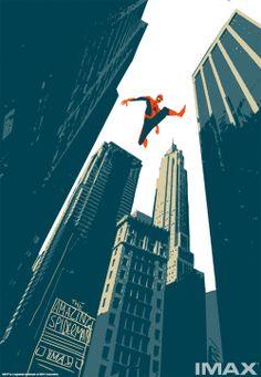 Unused 'The Amazing Spider-Man 2' IMAX Poster