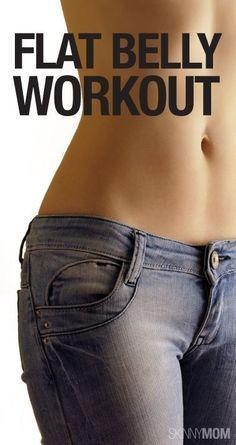 Great tips for flat tummy!