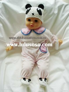 DD99004_Handmade_Crochet_Baby_Hat_Shoes_Set.jpg (960×1280)
