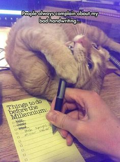 Bad handwriting