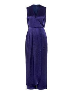 Rachel Comey: Swish Hammered Silk Jumpsuit (item detail - 1)