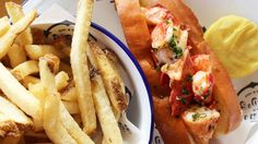 18 Fancy Lobster Rolls to Try in Los Angeles, Updated Los Angeles Food, Los Angeles Restaurants, Best Lobster Roll, Lobster Rolls, Lobster Sandwich, My Favorite Food, Favorite Recipes, Lobster Shack, I Want To Eat