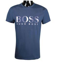 e28a389b New Hugo Boss Mens 50332287 UV Protection T-Shirt Navy or White s m l xl 2xl