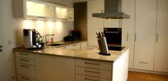 Moderne Küche mit optimaler Raumnutzung