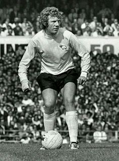 Alan Hinton of Derby County in 1972.