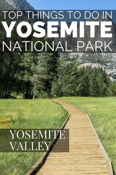 Things to do in Yosemite National Park and the Yosemite Valley. Your guide to the attractions and things to do in Yosemite Valley. With beautiful Yosemite photography locations and access to the best Yosemite hiking trails. Stay in the Yosemite valley cabins or go camping. BE sure to visit Yosemite National Park and California during the Summer months.