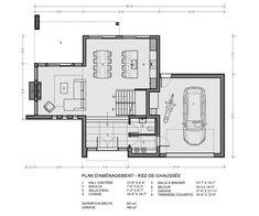 Rockwood : TALO Plans Modern House Design, Future House, Bungalow, House Plans, Floor Plans, Layout, Construction, Flooring, How To Plan
