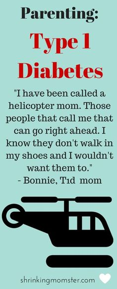 I don't judge how others raise their children why should people judge how I care to keep my child alive? I am by no means a helicopter mom but I am a proud MOD (mom of diabetes) strong! Raising a child with type 1 diabetes