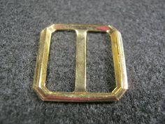 10 Stück Rimchenschnallen ohne Dorn,Metal Goldfarben,ca.19 mm Quadratisch,Steg ca.16 mm,Neu Lübecker Knopfmanufaktur von Knopfshop auf Etsy