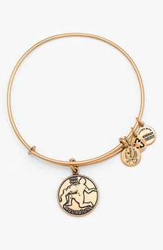 Alex and Ani 'Aquarius' Adjustable Wire Bangle | Nordstrom