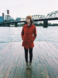 Erie Waxed Cotton Jacket by Bridge & Burn at sundaysupplyco.com