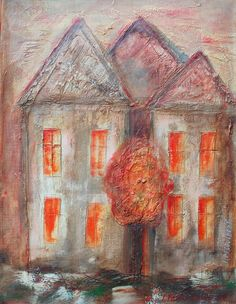 40x30cm  acrylic paintings on canvas, My own paintings : Ask me to informations and prices on email : ivana.pelouchova@...