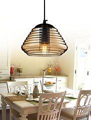 MAX 60W Contemporaneo LED / Stile Mini Altro Bicchiere Luci Pendenti Salotto / Camera da letto / Sala da pranzo / Sala studio/Ufficio
