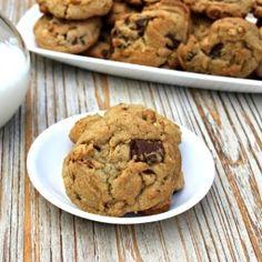 Chocolate Chunk Peanut Butter Cookies Recipe