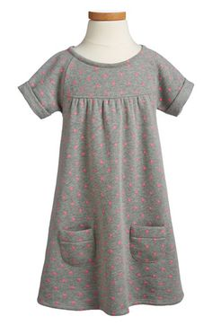 Tucker + Tate Fleece Sweatshirt Dress (Toddler Girls, Little Girls & Big Girls) available at #Nordstrom