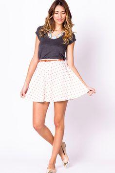 Ponti Circle Skirt